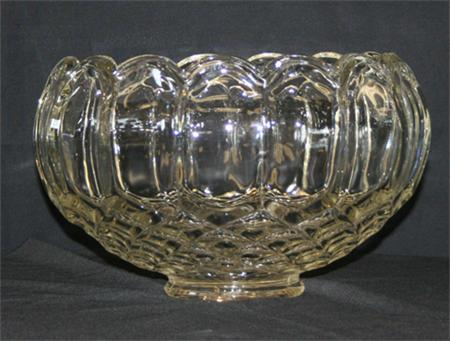 2 Gallon Crystal Punch Bowl