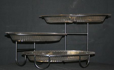 3 Tiered Oval Tray