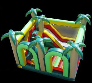 3-n-1 Jungle Bouncer Inflatable