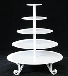 4-Tier Cup Cake Stand / Fruit Tray