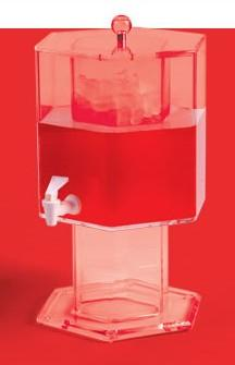 5 Gallon Clear Drink Dispenser