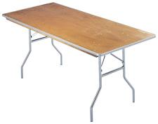8′ Banquet Table