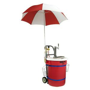 Beer Cart with Umbrella CO2