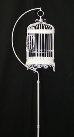 Bird Cage with Stand Card Holder