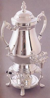 Coffee Urn 50 Cup Silver