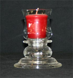 Colonial Base with votive Holder