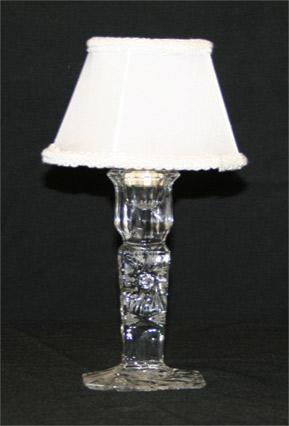 Crystal Votive Lamp Holder
