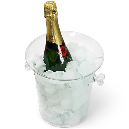 Glass Wine Bucket