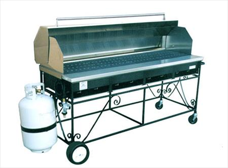 Grill, 5′ Propane with Hood