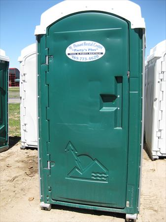 Portable Toilet Handicap Unit Green