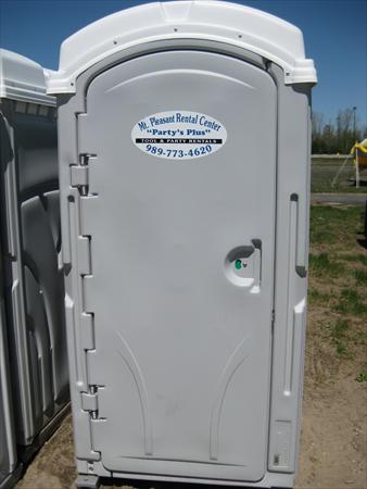 Portable Toilet Standard Unit Silver