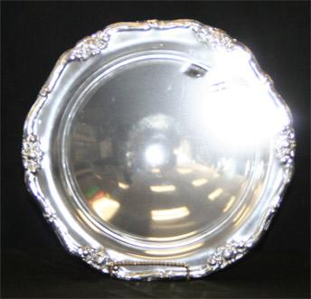Silver-round Footed Bowl