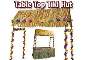 Tiki Hut for a 6′ Table