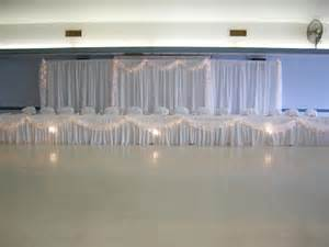 Backdrop-Pipe and Drape in White