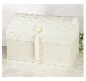 Treasure Chest Card Box – Ivory