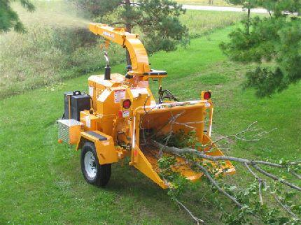 8 Wood Chipper Mount Pleasant Center Equipment Rentals