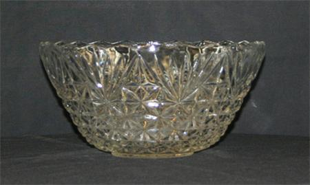 1 Gallon Glass Punch Bowl