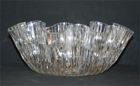 3 Gallon Crystal Cut Punch Bowl