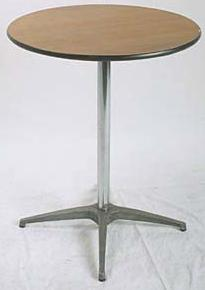 30″ Round Cocktail Table