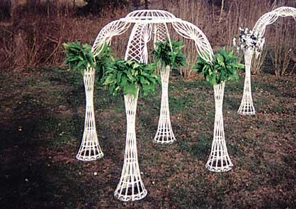 Arch-Gazebo-Wicker