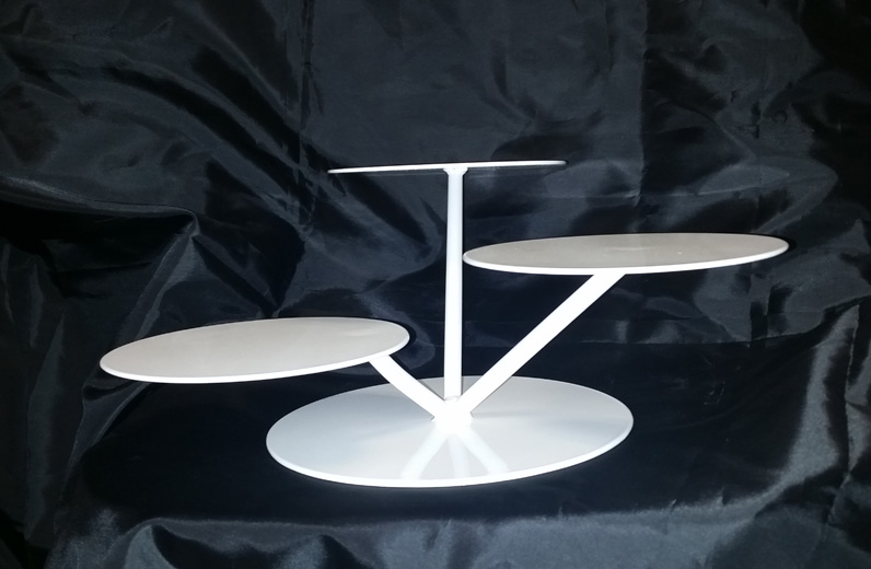 Tray-Lilly Pad 3 tier