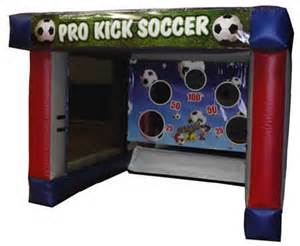 Soccer Target Inflatable Game